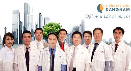 Đội ngũ y bác sĩ tại Kangnam có nhiều năm kinh nghiệm, chuyên môn cao