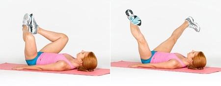 Cơ đùi và cơ mông được tác động giúp loại bỏ tình trạng mông chảy xệ
