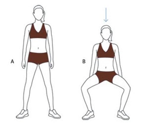 Động tác giúp mông to cực đơn giản