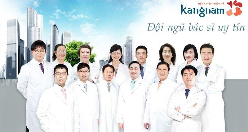 đội ngũ bác sĩ uy tín tại Kangnam