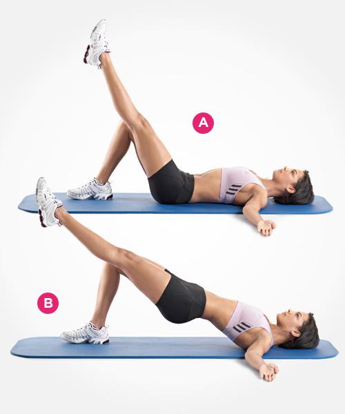 Bài tập khắc phục mông bị hóp 2 bên hiệu quả