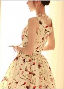 """Nhanh tay thử váy liền cho cô nàng có vòng 3 """"lép kẹp"""""""