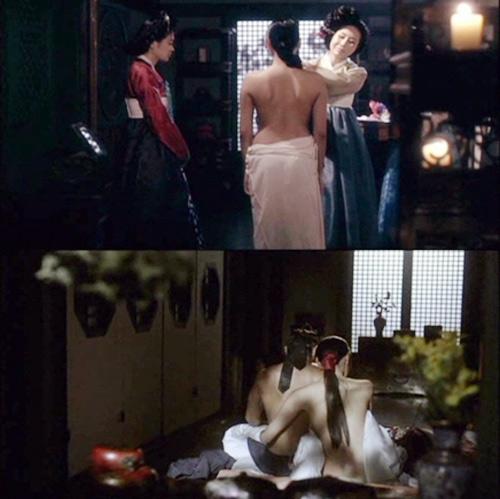 """""""Phì cười"""" với những chiêu khoe mông khó đỡ trên phim Hàn3"""