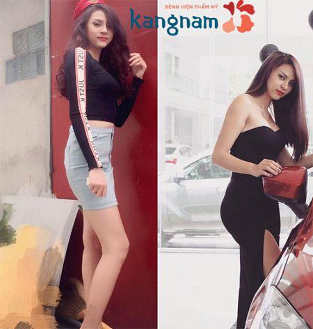 Người mẫu Kim Anh sở hữu vòng 3 căng tròn, đầy đặn sau nâng mông