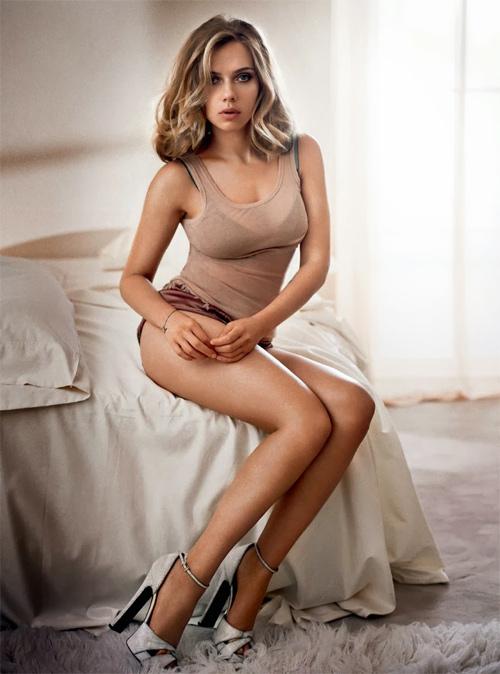 Để có vòng 3 như ngày hôm nay, Scarlett Johansson đã phải luyện tập rất chăm chỉ