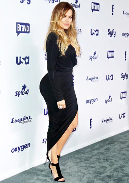 Vòng 3 to đẹp của Khloe Kardashian khiến nhiều người ghen tị