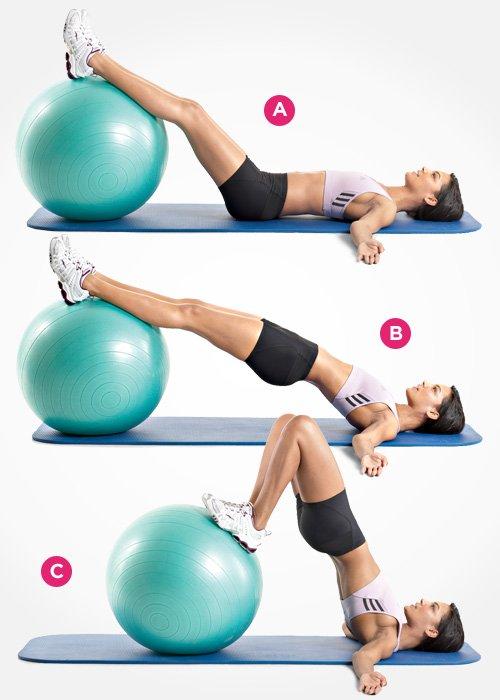 Bài tập Gym tăng vòng 3 này còn giúp bắp chân săn chắc