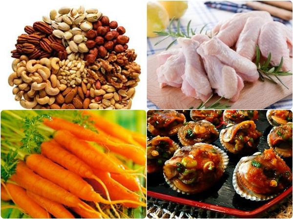 Dinh dưỡng đầy đủ, nhiều chất đạm sẽ làm tăng số đo vòng 3 nhanh chóng