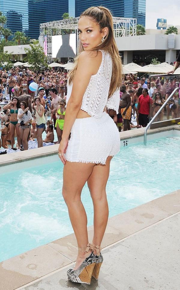 Jennifer Lopez có vòng mông đẹp quyến rũ
