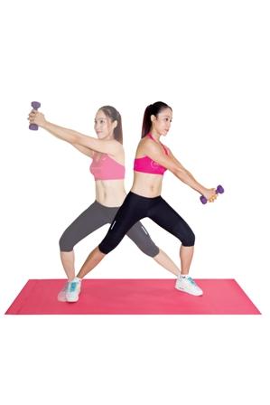Động tác này giúp bạn thực hiện tập thể dục toàn thân
