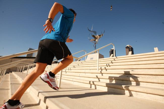 Leo cầu thang mỗi ngày giúp giảm vòng 3 và giảm nguy cơ mắc bệnh tim mạch
