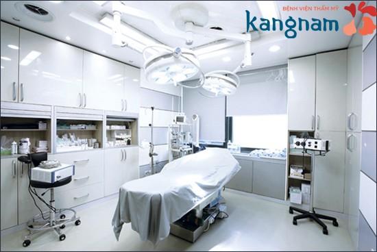 Phòng mổ vô trùng đảm bảo nâng mông không gây nguy hiểm