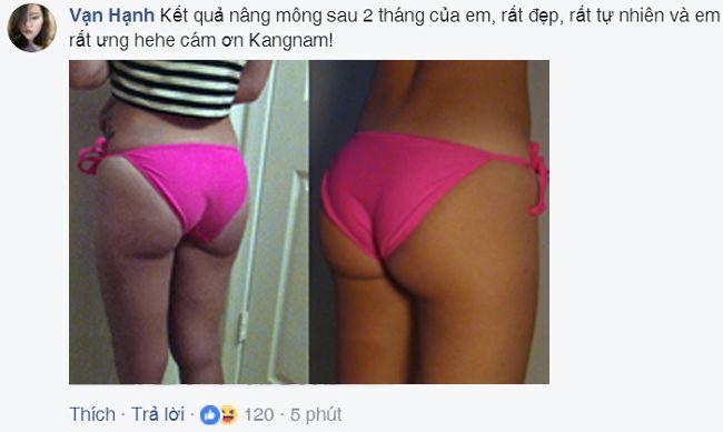 Chia sẻ thực tế của khách hàng ở hội nhóm làm đẹp trên mạng xã hội Facebook