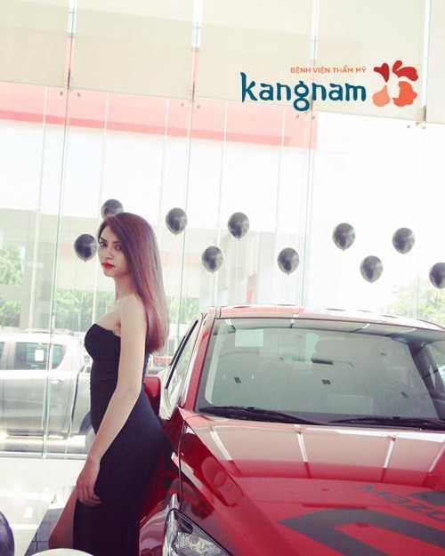 Kim Anh nâng mông tại Kangnam 1