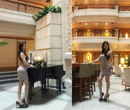 Kết quả nâng mông sau 1 tháng của Phi Thanh Vân