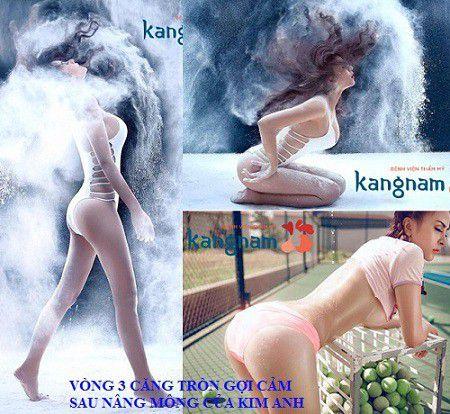 Kim Anh chia sẻ cách làm mông to của mình