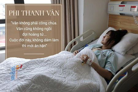 Phi Thanh Vân luôn lạc quan và vui vẻ sau ca đại phẫu chưa từng có