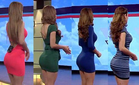 Sở hữu vòng 3 gợi cảm như nữ MC dẫn chương trình dự báo thời tiết người Mexico2